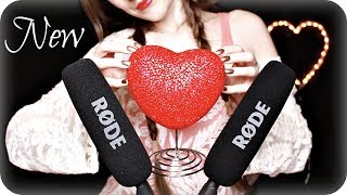 ASMR NEW Mics & Triggers ❤️ 15 Varied Ear to Ear Sounds for Sleep, Relaxation & Tingles 🎤 4 Mics