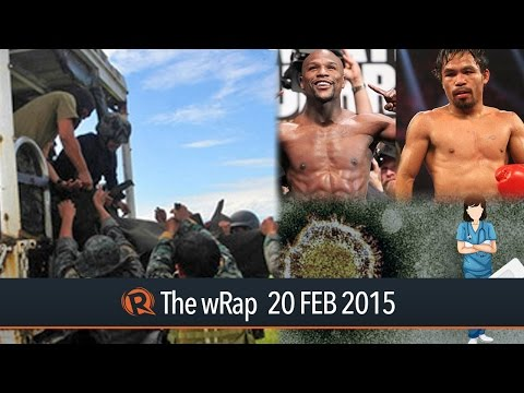 MILF surrender, MERS-COV free, Pacquiao-Mayweather | The wRap