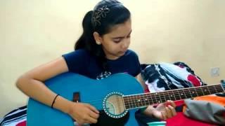Barish Yaariyan Guitar Cover ( Aashvi Jain)