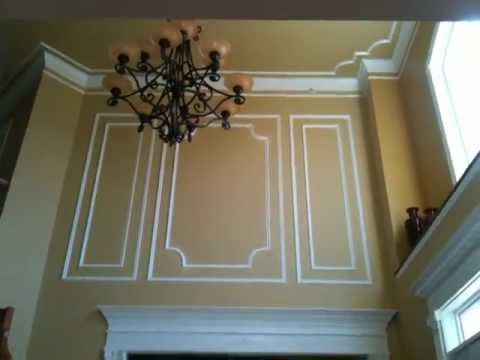 Shadow Boxes And Decorated Foyer By Carpentrymasters Co
