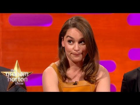 Emilia Clarke Talks About Game of Thrones Deaths - The Graham Norton Show