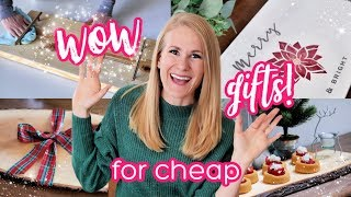 FANCY CHEAP GIFT IDEAS 🎁 DIY Serving Boards 3 Ways