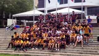 Australia International School Malaysia Rugby Friendly 2013 BRC Club Saracens