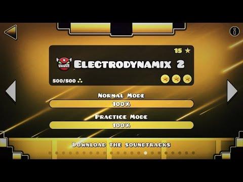 ELECTRODYNAMIX 2 (FULL LEVEL) - GEOMETRY DASH 2.2 (SYNC?)