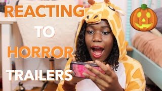 HORROR MOVIE TRAILERS REACTION
