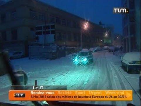 Lyon se réveille sous la neige