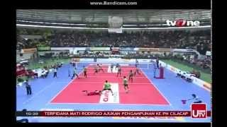 Grand Final Bola Volly Putra set 3 2015 part III