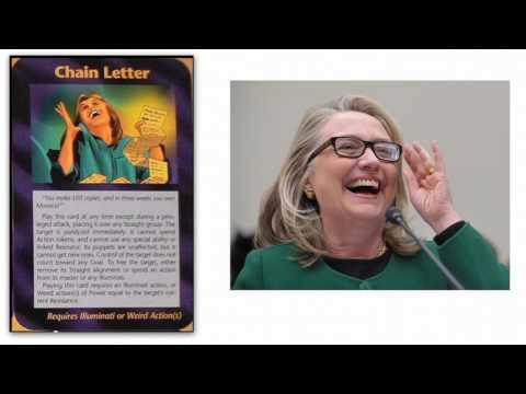 Illuminati Games 2016: Hilary Clinton Chain Letter Of Emails Revealed