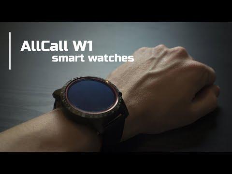 Уж слишком умные часы   AllCall W1 (smartwatch)
