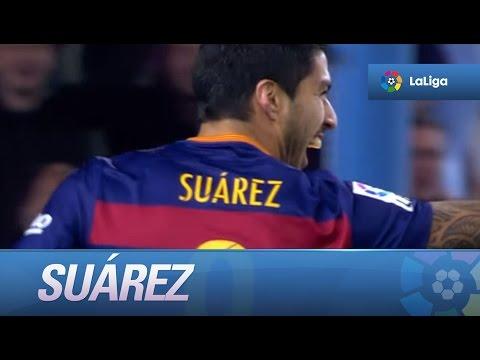 Luis Suárez supera a Forlán como máximo goleador uruguayo en una temporada en LaLiga