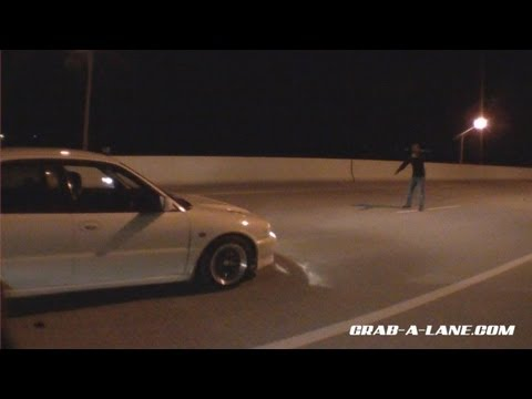 EVO II vs NXSGT Mustang: Dig on the Street ($$ Race)