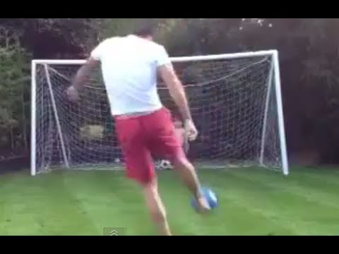 Dad Hits Son in Head With Soccer Ball