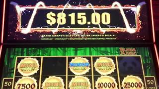 BIG WIN, Dragon Cash, $5 Bet, $815 WIN