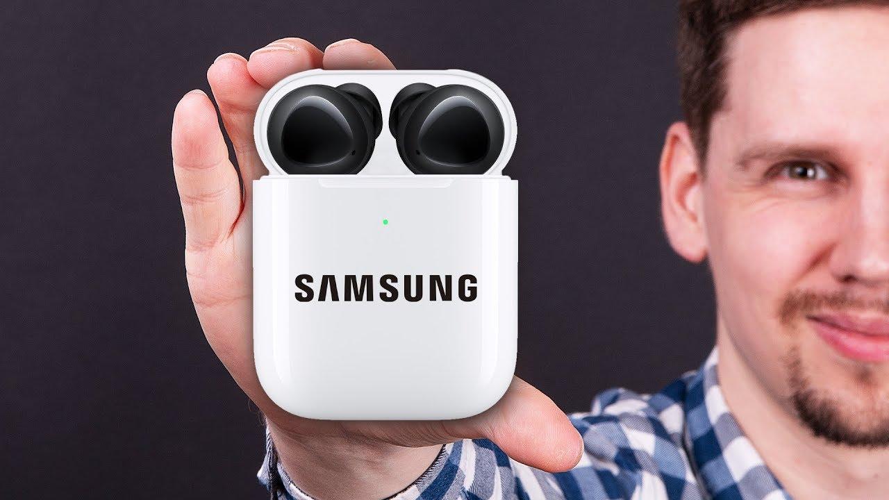 Самые близкие к AirPods наушники SAMSUNG Galaxy Buds