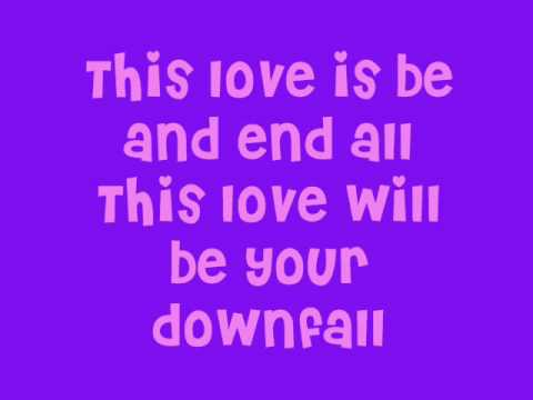 Ellie Goulding - This Love (will be your Downfall) + LYRICS