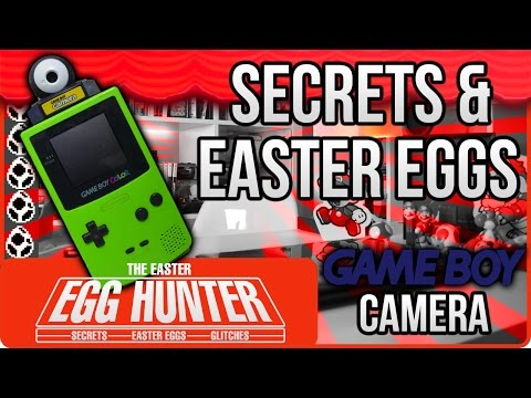 The Easter Egg Hunter: Game Boy Camera Secrets