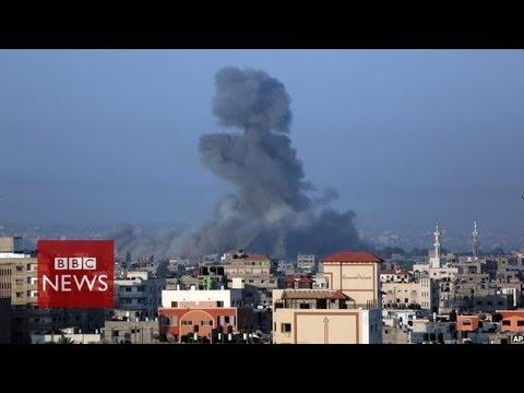 UN says Gaza 'on knife edge' - BBC News