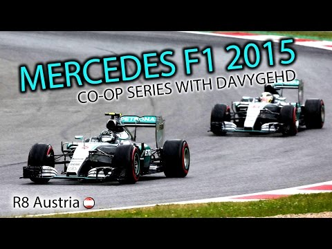 F1 2015 Mercedes Co-op Career #8 - Austrian Grand Prix
