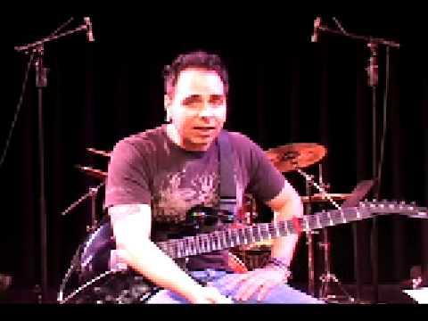 Dave Martone Guitar Lesson 10: Hair-Tie harmonics