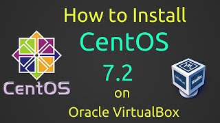 How to Install CentOS 7.2 + VBox Guest Additions on VirtualBox [Subtitle] [HD]