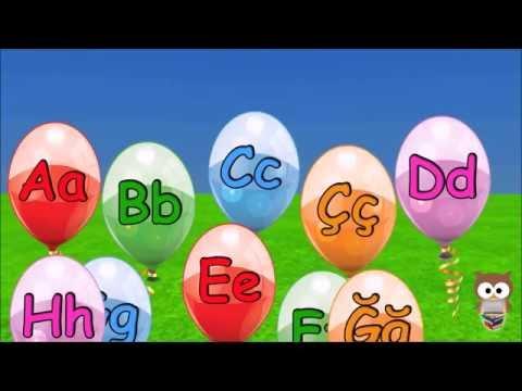 A den Z ye Alfabe | Türkçe Alfabe  | Türkçe ABC | 3D Animasyonlu Çocuk Şarkıları | Mini Baykuş