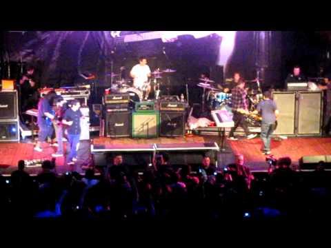 Deftones - Savory live w/ FAR - Chi Cheng benefit show - 11 - 19 -2009 @ the Avalon