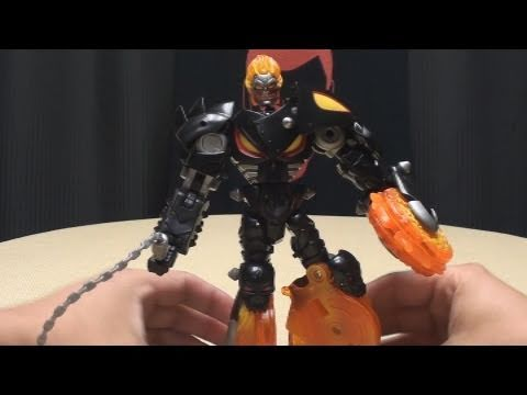 Marvel Crossovers GHOST RIDER: EmGo's Transformers Reviews N' Stuff