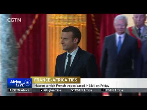 France-Africa Ties: Macron to visit French troops based in Mali on Friday