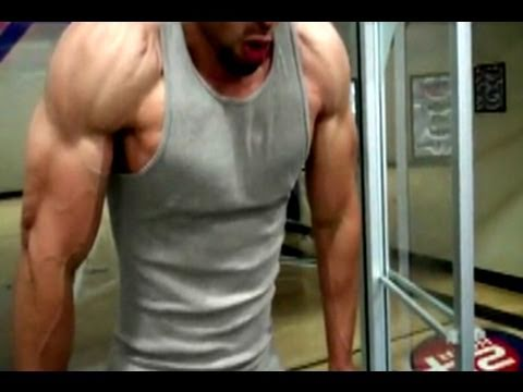 Natural Bodybuilding Killer Chest & Tricep Workout!!!