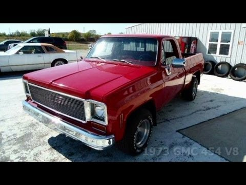 1973 GMC C10 454 Big-Block Pickup Truck