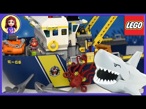 LEGO City Deep Sea Exploration Vessel Set Build Review Silly Play - Kids Toys
