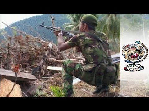 Behind Rebel Lines In Devastated Aceh