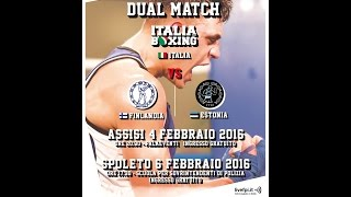 #DualMatch Italia Vs Estonia/Finlandia  #Spoleto 06/02