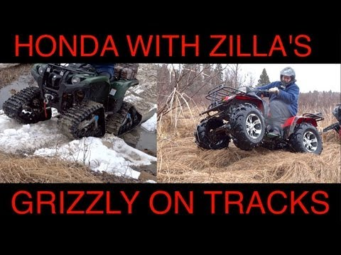 Honda ATV TRX 350 On Zilla's - Grizzly's Last Short Track Ride Of The Season - May 4 2013