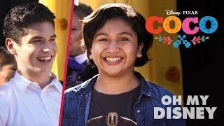 Anthony Gonzalez Sean Oliu Coco 39 S 34 Un Poco Loco 34 Oh My Disney