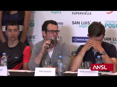Mark Cavendish answers doping-question from journalist