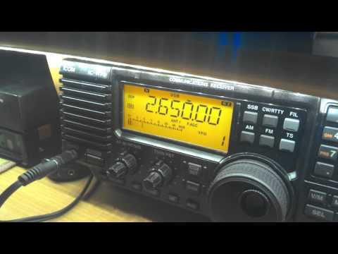 Russian language maritime weather, 2650 kHz, 20:20 UTC