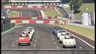 Gran Turismo Sport Fiat 500 Fun! | Online Daily Race A at Kyoto Driving Park