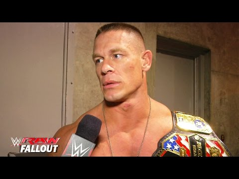 John Cena addresses tonight's energetic crowd: Raw Fallout, March 30, 2015