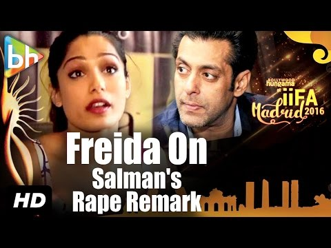"""""""Salman Khan's Entire Statement Not Been Highlighted Is Unfortunate"""": Freida Pinto"""
