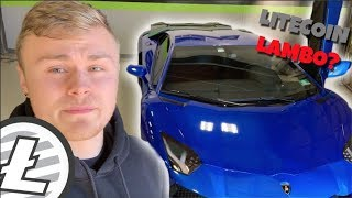 HOW TO GET A LAMBORGHINI AVENTADOR WITH LITECOIN!!!! - Here Is How I Did It!