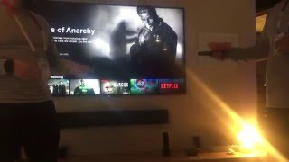 Android TV controls the smart home