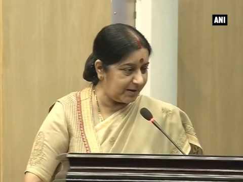 EAM Sushma Swaraj launches mPassport, a police verification mobile application (Part - 1)