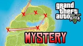 GTA 5 Easter Eggs - Finding Each X in the Mt Chiliad Mural! (GTA 5 Mystery Hunt)