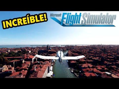 Gameplay Microsoft FLIGHT SIMULATOR 2020 ✈️ | Ciudades de España y Europa Desde el Aire