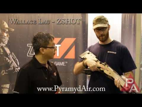 Ares Accuracy International AW338 Airsoft Sniper Rifle - 2012 US Airsoft Expo