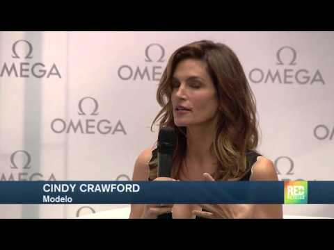 Cindy Crawford está en Colombia