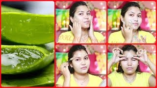 How to do aloe vera facial at home and get clear glowing flawless skin