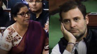 Nirmala Sitharaman's point-by-point rebuttal on Congress' Rafale charge