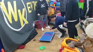 mc라이또-wk유아체능단 선생님들의 재미있는 탁구게임